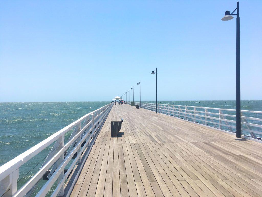オーストラリア ブリスベン ショーンクリフ桟橋 Shorncliffe
