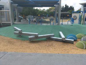 ブリスベン Frew Park 公園の遊具