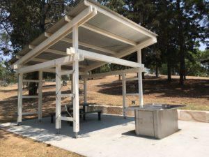 オーストラリア ブリスベン Anzac Park 公園のバーベキュー設備