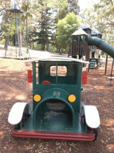 オーストラリア ブリスベン Anzac Park 公園の遊具