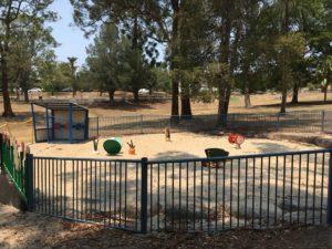 オーストラリア ブリスベン Anzac Park 公園のお砂場