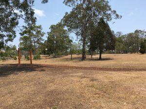 オーストラリア ブリスベン Anzac Park 公園のターザンロープ
