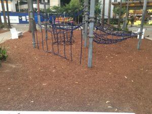 シドニーのTumbalong Parkの遊具