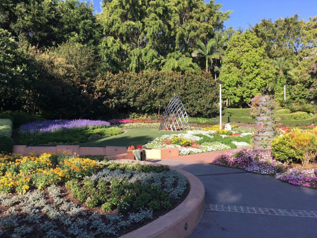 ローマストリートパークランドの園芸3