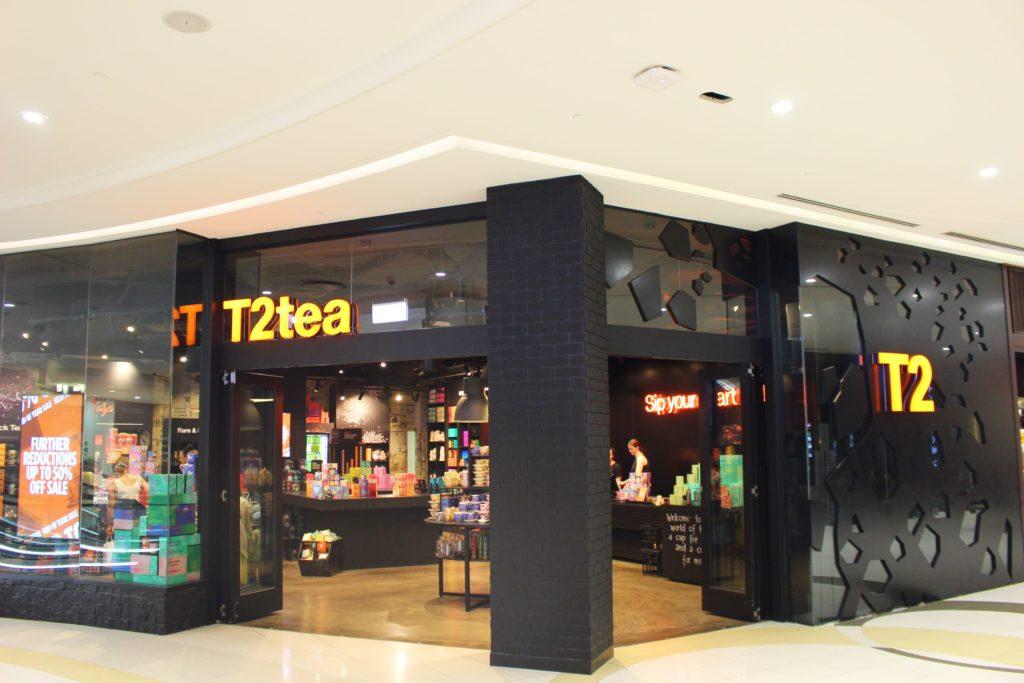 T2の人気の紅茶とおすすめのお土産商品、各都市の店舗について