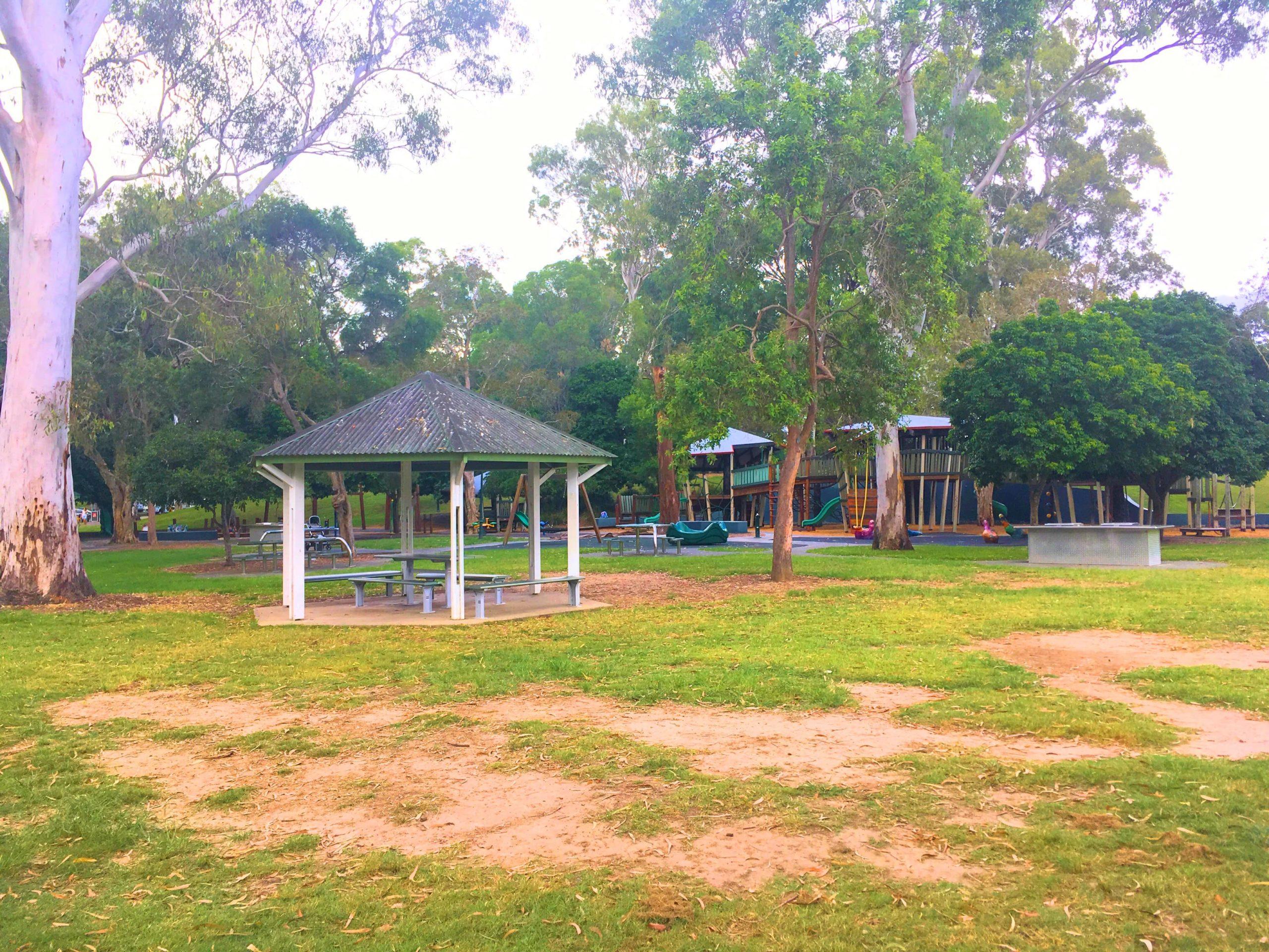 ブリスベンの公園 カリンガパーク(Kalinga Park)を紹介